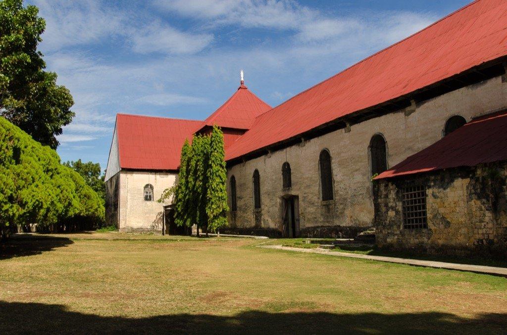 San Isidro Labrador Kirche in Lazi