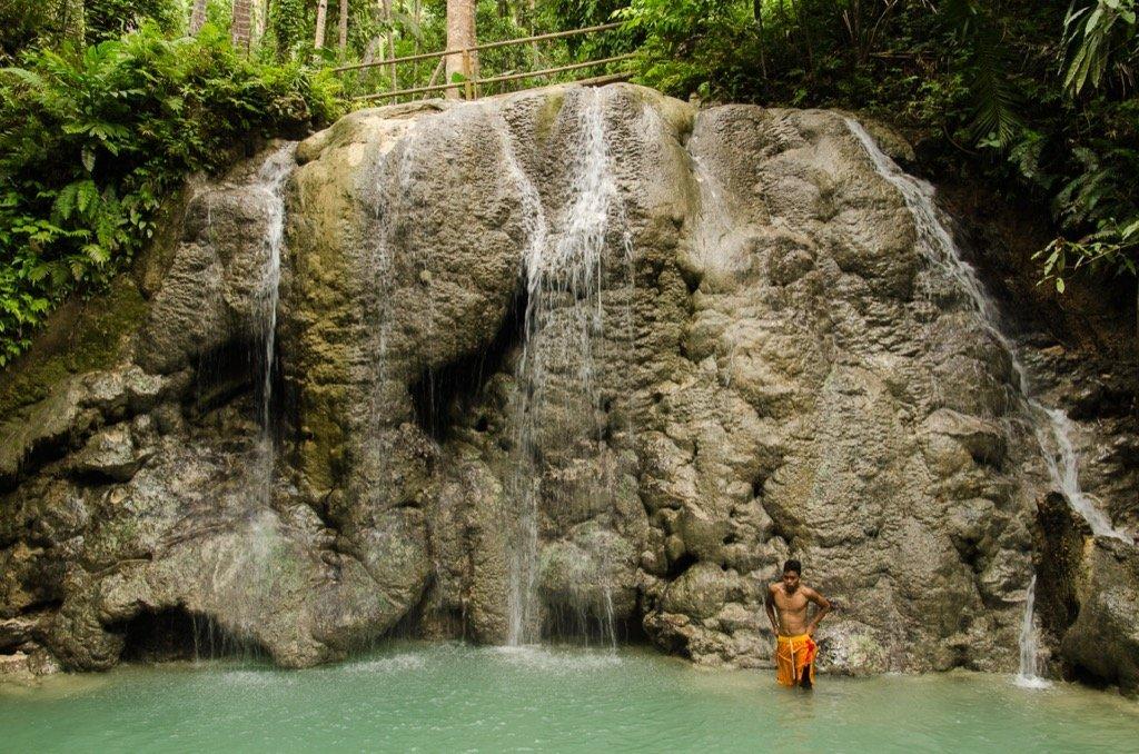 Lugnason Wasserfälle