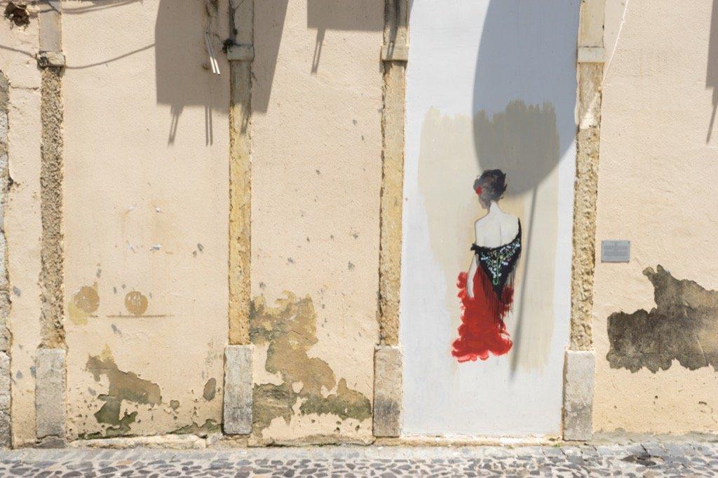 Fado Sängerin Severa in Mouraria