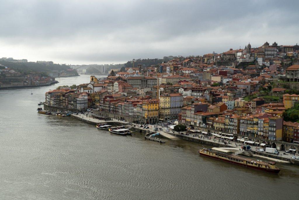 Ausblick Porto