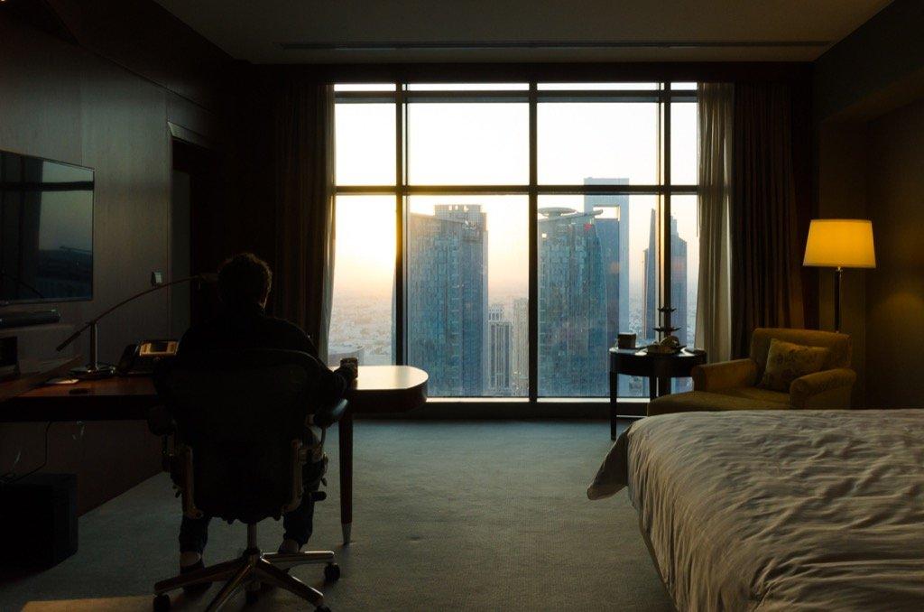 Marriott Doha Zimmer