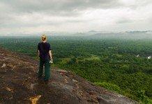 Aussicht vom Pidurangala Felsen
