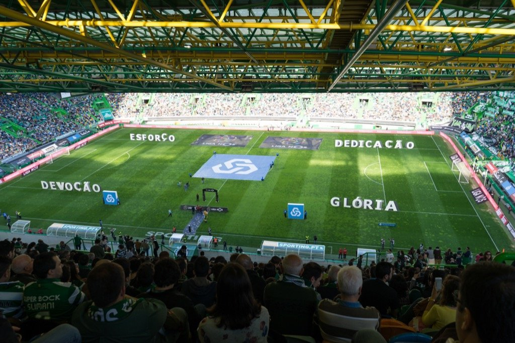 Sporting Stadion Lissabon
