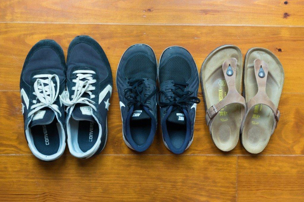 Städtereise Schuhe