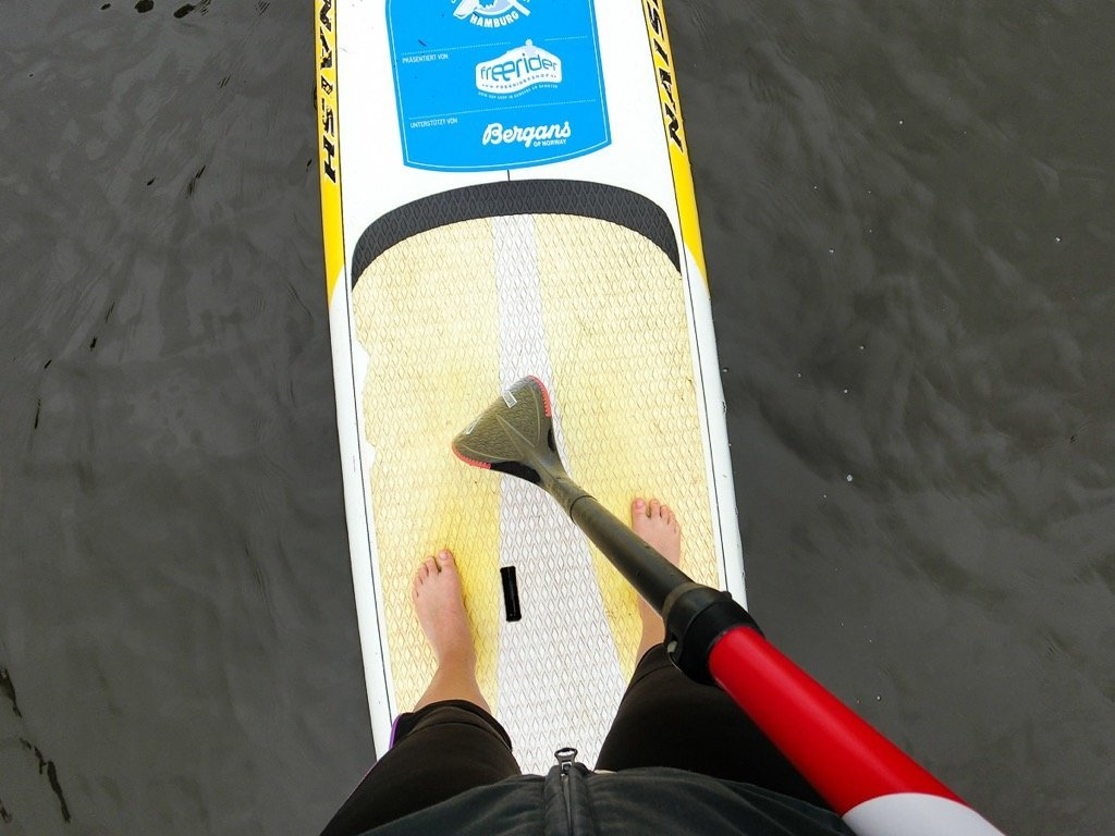 SUP in Hamburg