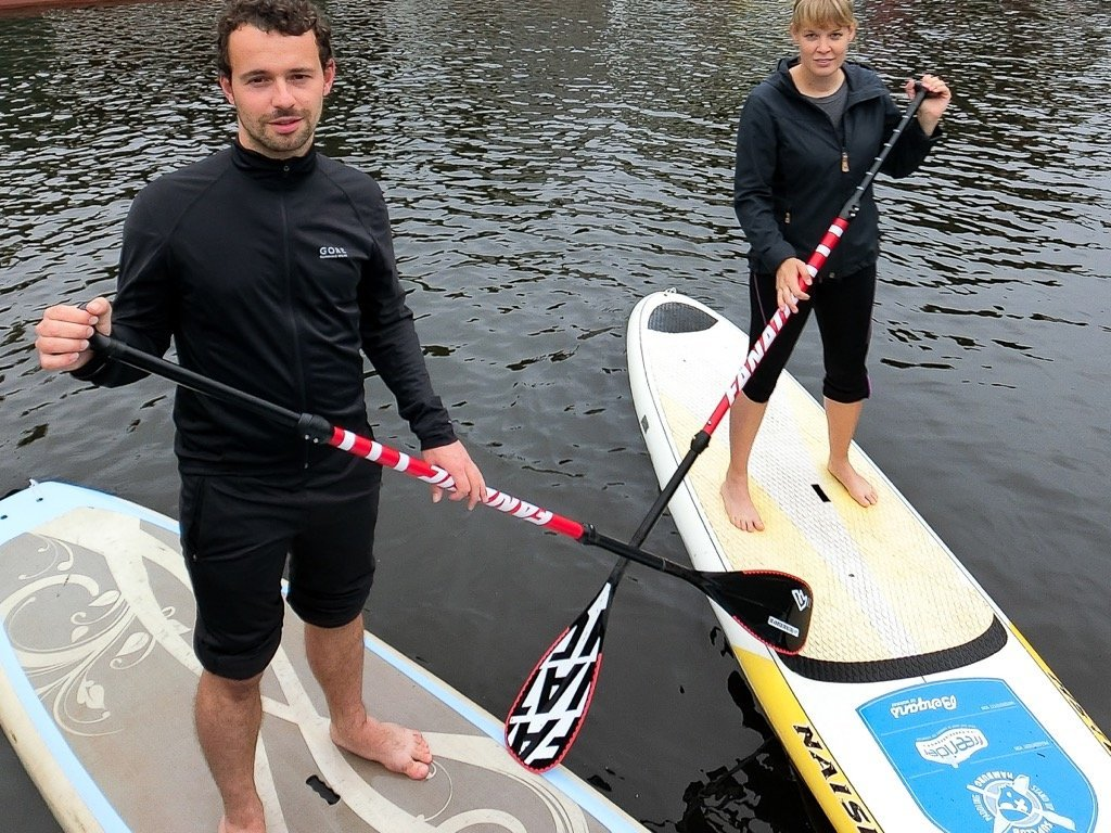 Stand Up Paddling Alster Hamburg