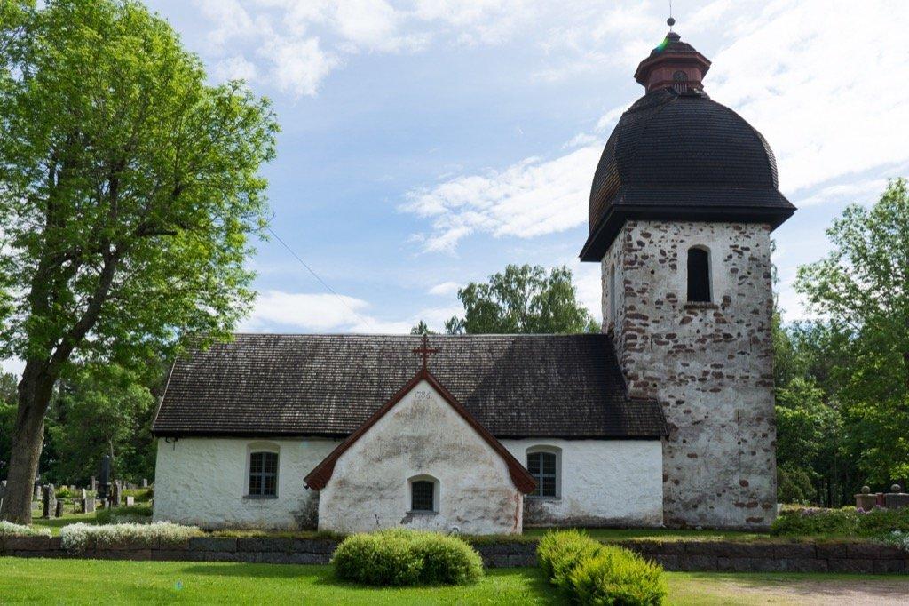 Steinkirche in Vardö