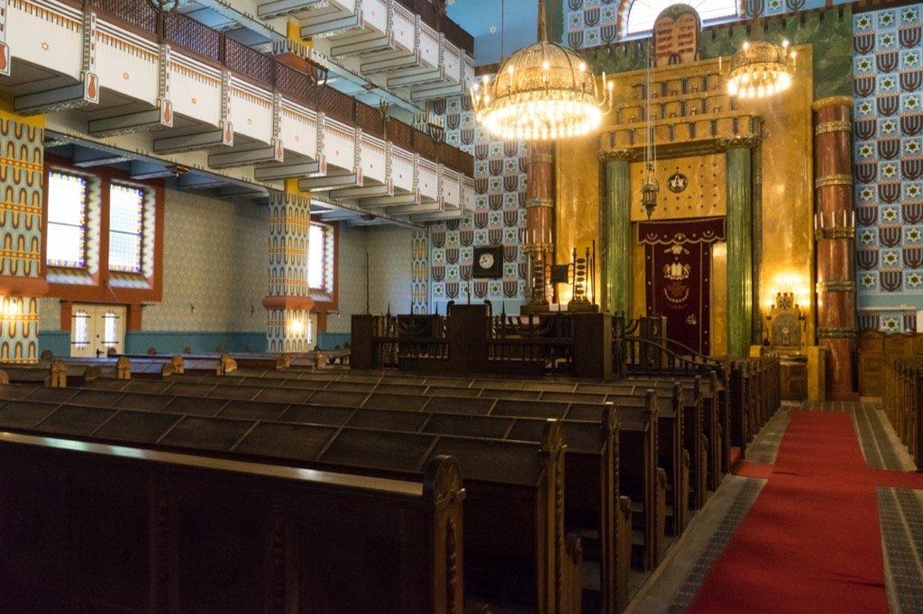 Synagoge in der Kazinczy-Straße