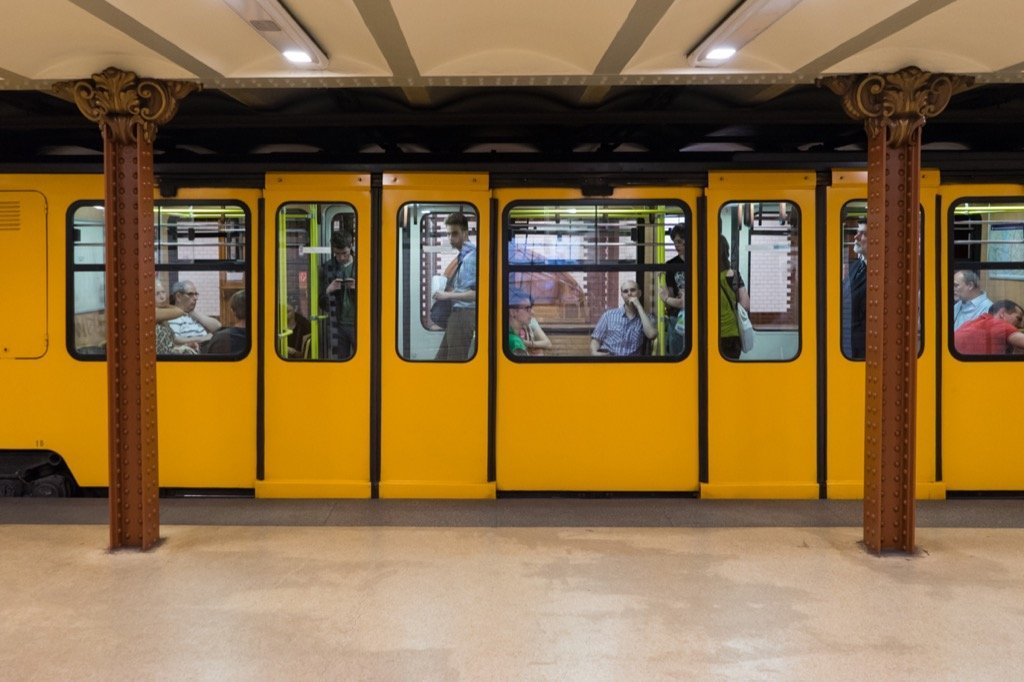 Die zweitälteste U-Bahn Europas