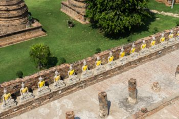 Wat Yai Chain Monghon Tempel Ayutthaya