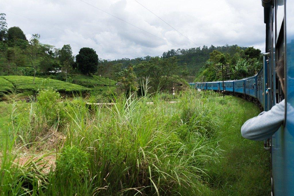 Zugfahrt Ella - Kandy